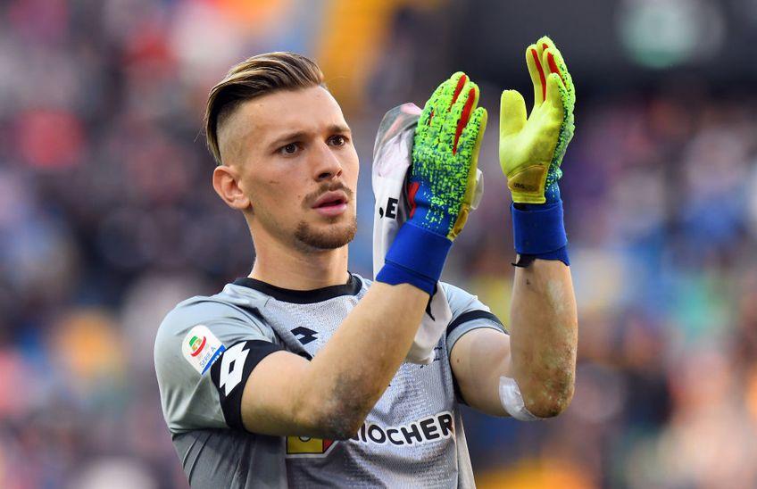 Ionuț Radu are oferte, deși n-a apucat să debuteze la Parma și nu a mai apărat dinaintea Crăciunului. E dorit de Udinese Foto: Guliver/GettyImages