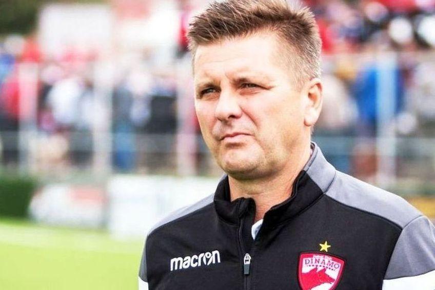 Dusan Uhrin Jr., antrenor Dinamo