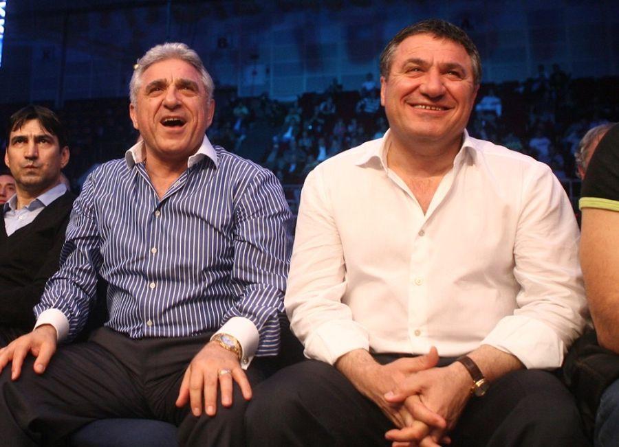 Frații Ioan și Victor Becali