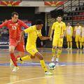 România - Macedonia de Nord 9-1 // foto: Facebook @ Futsal Romania