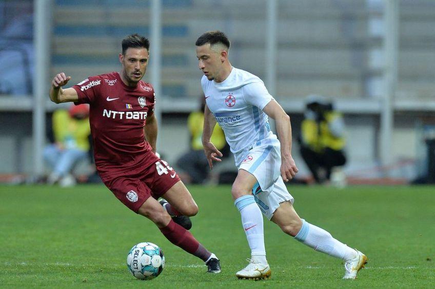 FCSB și CFR Cluj sunt principalele favorite la titlu în Liga 1