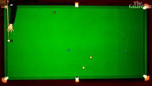 """VIDEO S-a jucat """"cea mai extraordinară lovitură din istoria snookerului""""! Reușită incredibilă la Mondial"""