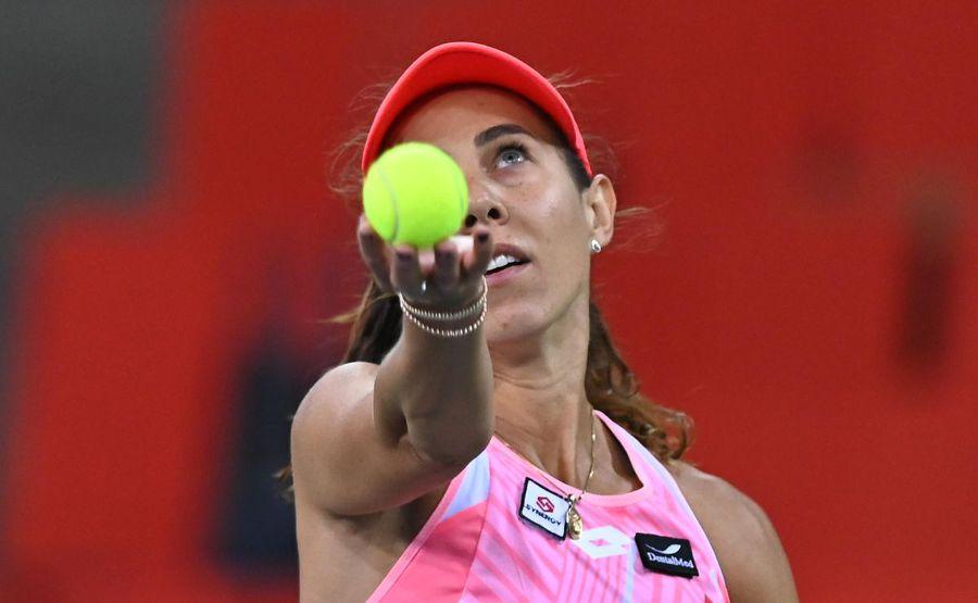Mihaela Buzărnescu a pierdut în meciul 2 al duelului România - Italia