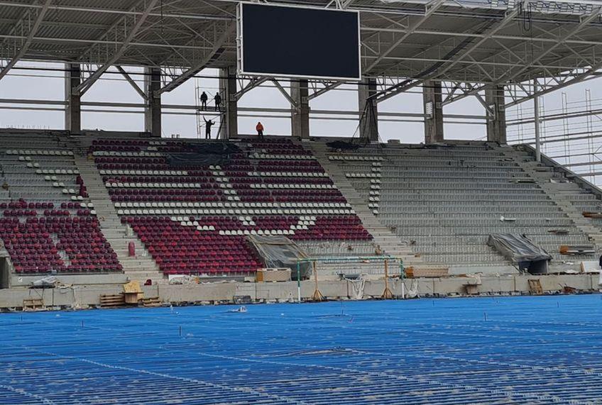 """""""Stadionul Rapid - Giulești"""" este denumirea oficială pe care noua arenă a Rapidului o va avea."""
