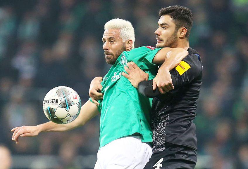 Claudio Pizarro, în verde, foto: Guliver/gettyimages