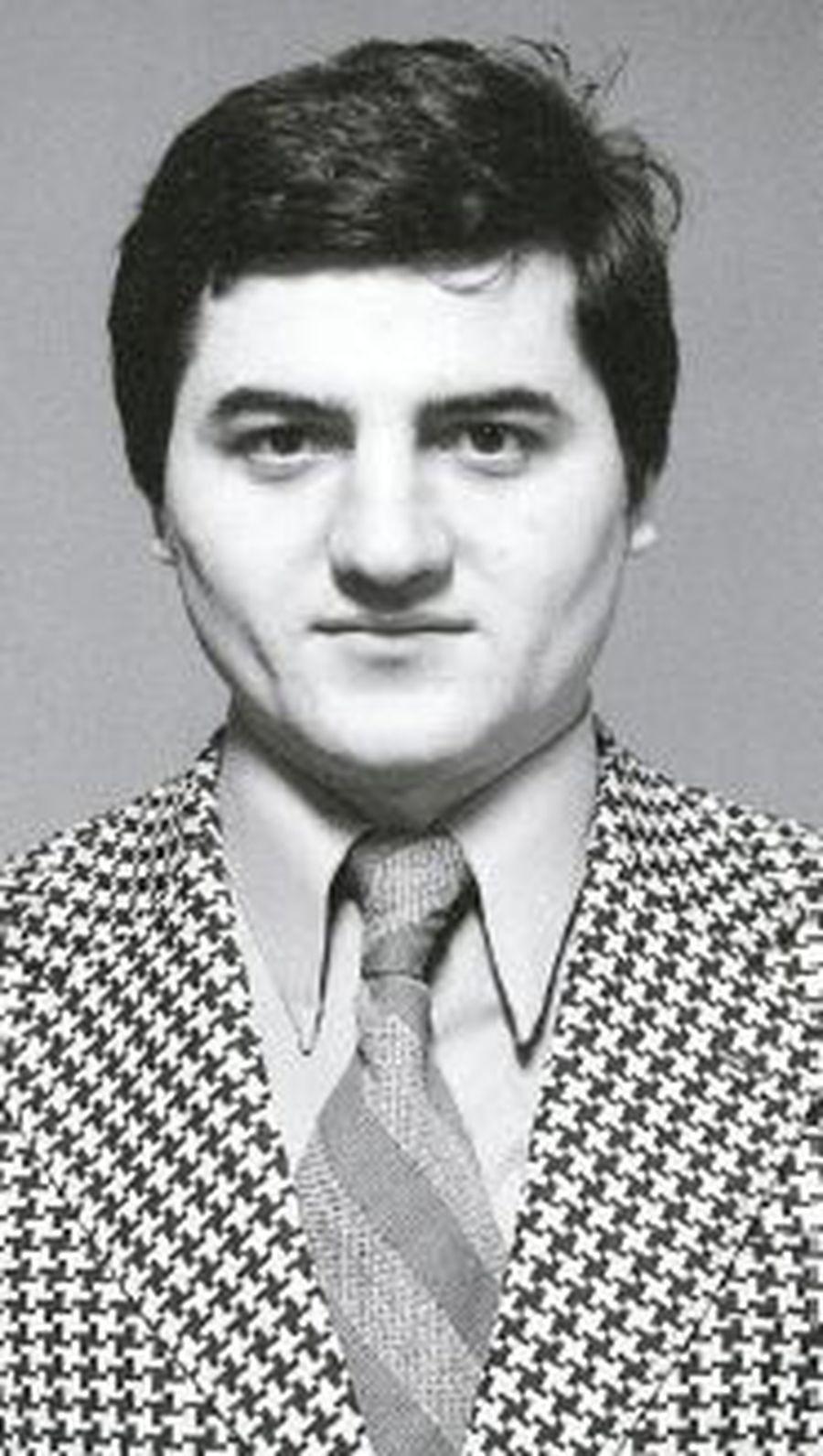 Dumitru Dragomir în 1975, când avea numai 29 de ani