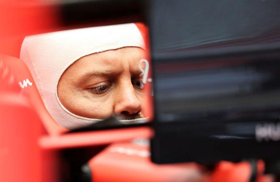 Sebastian Vettel și un viitor la care va reflecta Foto Guliver/GettyImages