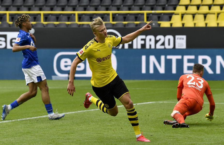 Borussia a învins-o categoric pe Schalke // Sursă foto: Guliver/gettyimages