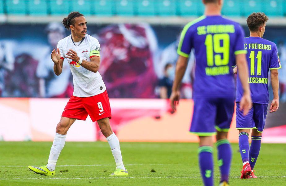 Golul lui Poulsen a adus doar un punct pentru Leipzig Guliver/GettyImages