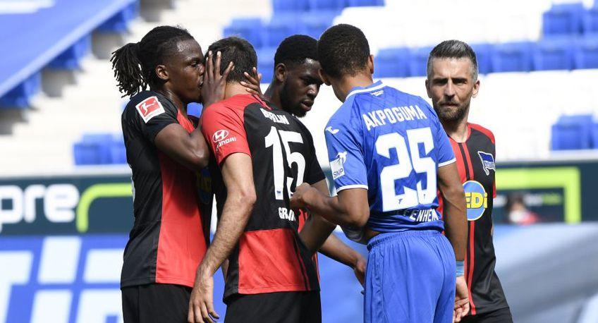 Dedryck Boyata și Marjo Grujic au încălcat noile reguli din Bundesliga // Sursă foto: Getty