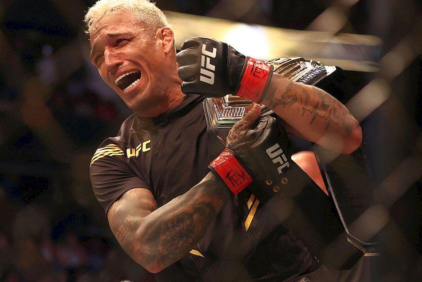 Charles Oliveira, noul campion din UFC // FOTO: Reuters