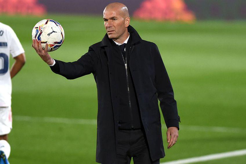 Zinedine Zidane, antrenor Real Madrid // foto: Guliver/gettyimages