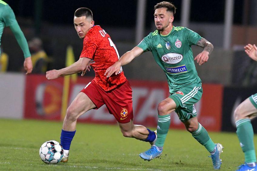 Sepsi OSK a câștigat cu FCSB în turul play-off-ului, scor 2-1 // foto: Imago