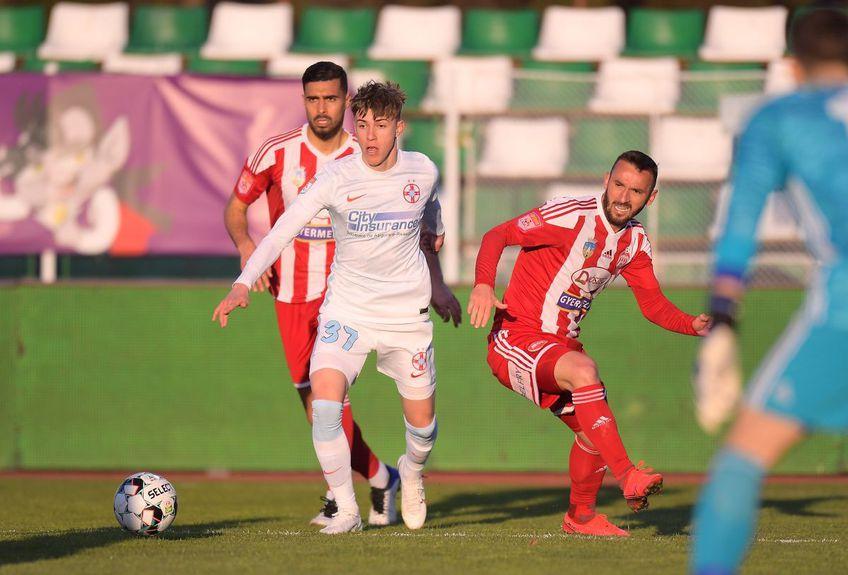 Cornel Șfaițer, managerul general al lui Sepsi, vrea să încheie pe podium play-off-ul și a remarcat marea problemă a celor de la FCSB.
