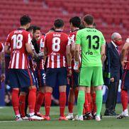 Atletico, Real și Barcelona luptă pentru titlu în penultima etapă din La Liga. FOTO: Guliver/Getty Images