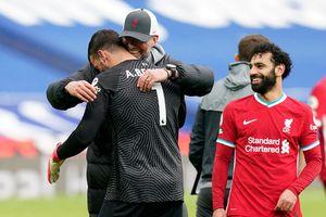 Portarul a marcat golul care o poate duce pe Liverpool în Ligă și a izbucnit în lacrimi