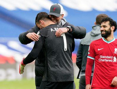 """Portarul a marcat golul care o poate duce pe Liverpool în Ligă și a izbucnit în lacrimi: """"Unele lucruri nu pot fi explicate, este voința lui Dumnezeu"""""""