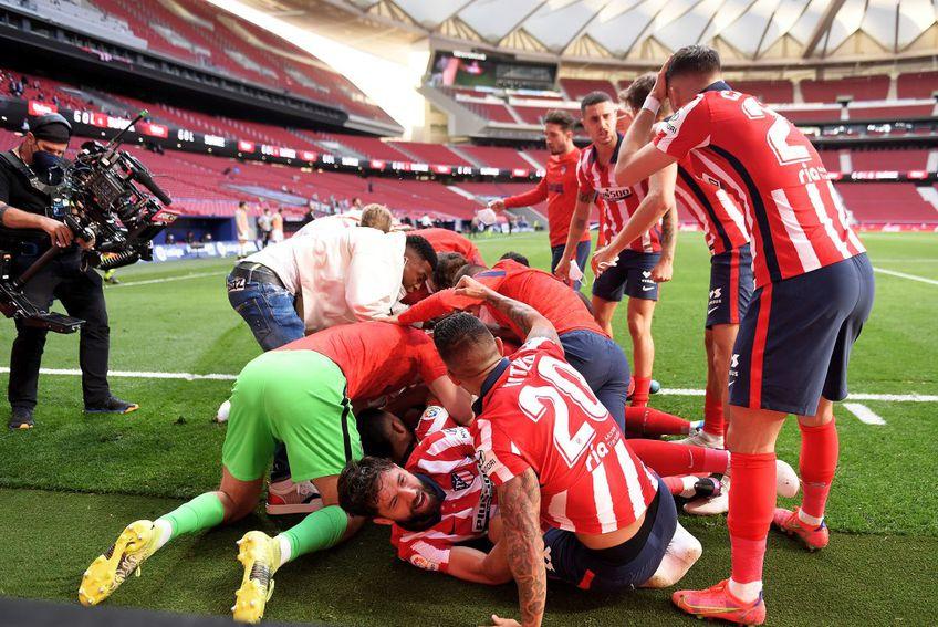 Atletico e favorită la titlu înainte de ultima etapă FOTO: Guliver/Getty Images