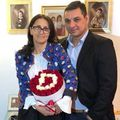 Ionel Ganea alături de fosta sa soție, Dana // Sursă foto: Facebook @George Ganea