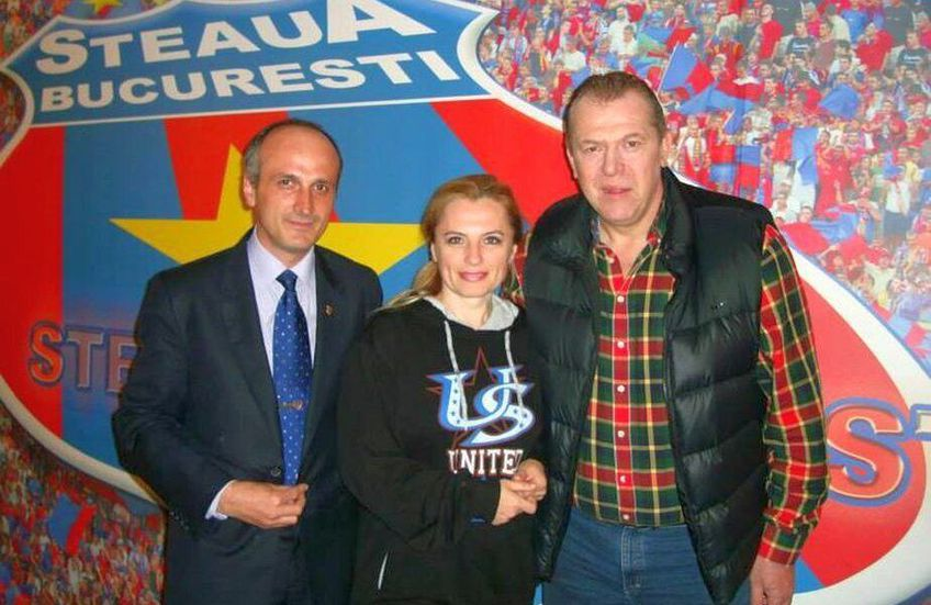 Florin Talpan, alături de Helmuth Duckadam