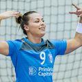 Sigurul meci jucat în tricoul CSM București, în august 2019 FOTO Dan Potor