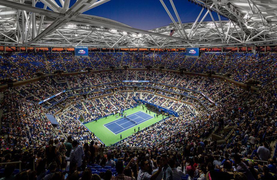 US Open se va disputa în acest an fără spectatori. Foto: Arhitect Magazine