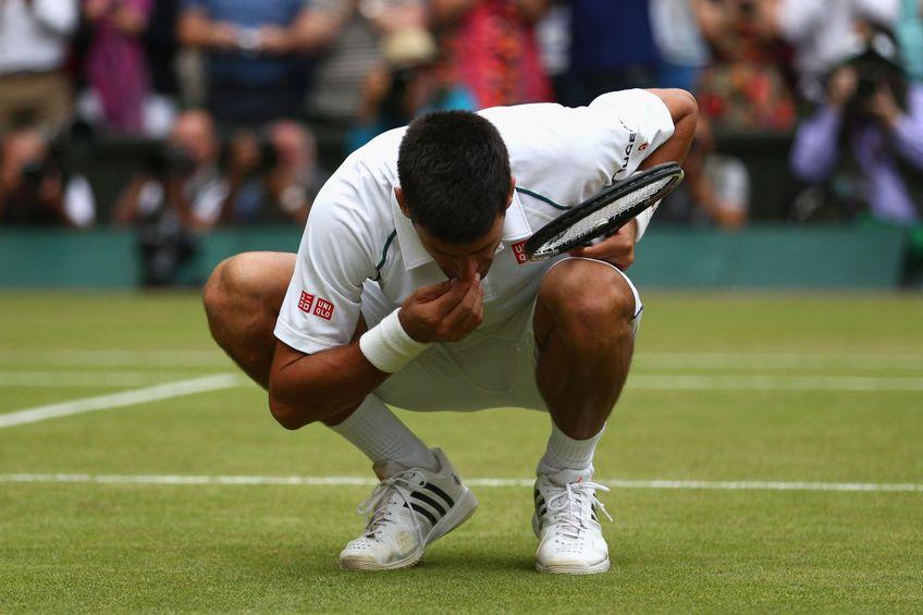 Novak Djokovic are cinci titluri la Wimbledon. Sursă foto: Guliver/Getty Images