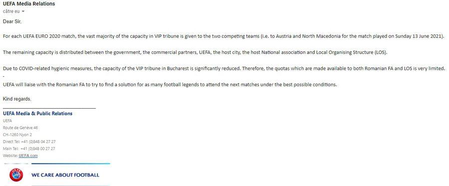 """UEFA intervine după dezvăluirile GSP în scandalul biletelor: """"Vom găsi soluții"""" + FRF se laudă că ea a rezolvat problema"""