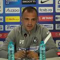 Dinu Todoran, 42 de ani, antrenorul lui FCSB, a susținut prima conferință de presă din postura de tehnician al roș-albaștrilor.