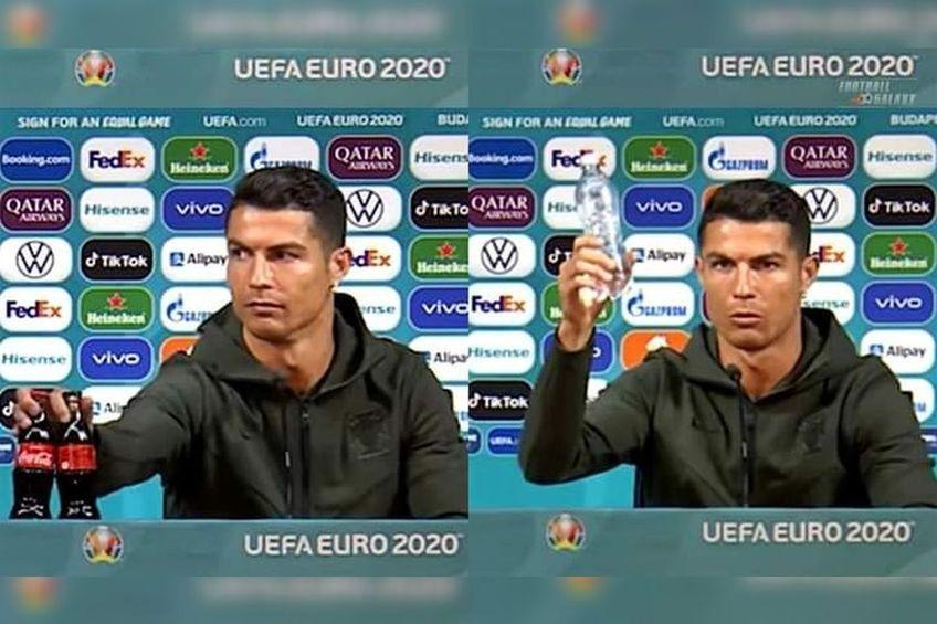 Cristiano Ronaldo, la conferința de presă