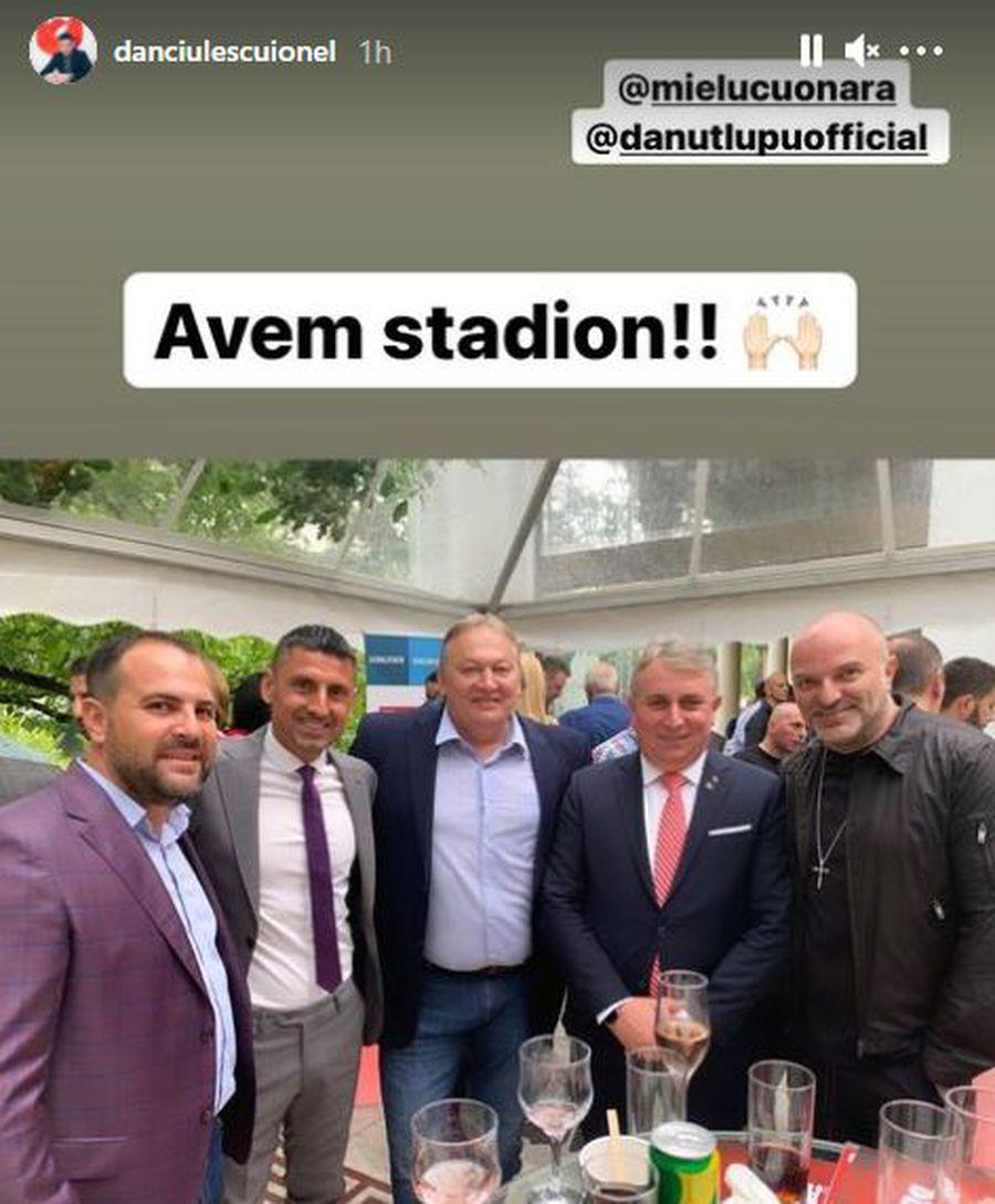 """Dinamoviștii exultă, după întâlnirea de azi: """"Avem stadion!"""""""