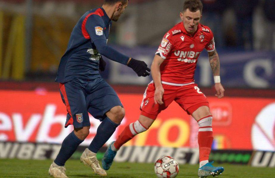 6 jucători din cadrul echipei Dinamo au fost depistați pozitiv cu coronavirus, iar partida din această seară cu Chindia Târgoviște va fi amânată.