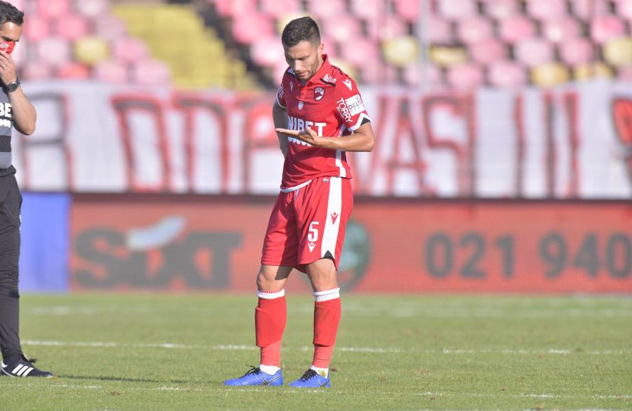 Alex Răuță este unul dintre cei 6 jucători testați pozitiv pentru COVID-19 de la Dinamo