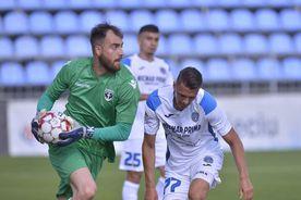 CLINCENI - VOLUNTARI 2-1. Cojocaru și-a îngropat echipa! Gafa incredibilă a portarului, decisivă