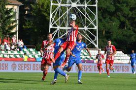 Sepsi, victorie entuziasmantă în startul noului sezon » Două goluri spectaculoase marcate de elevii lui Grozavu