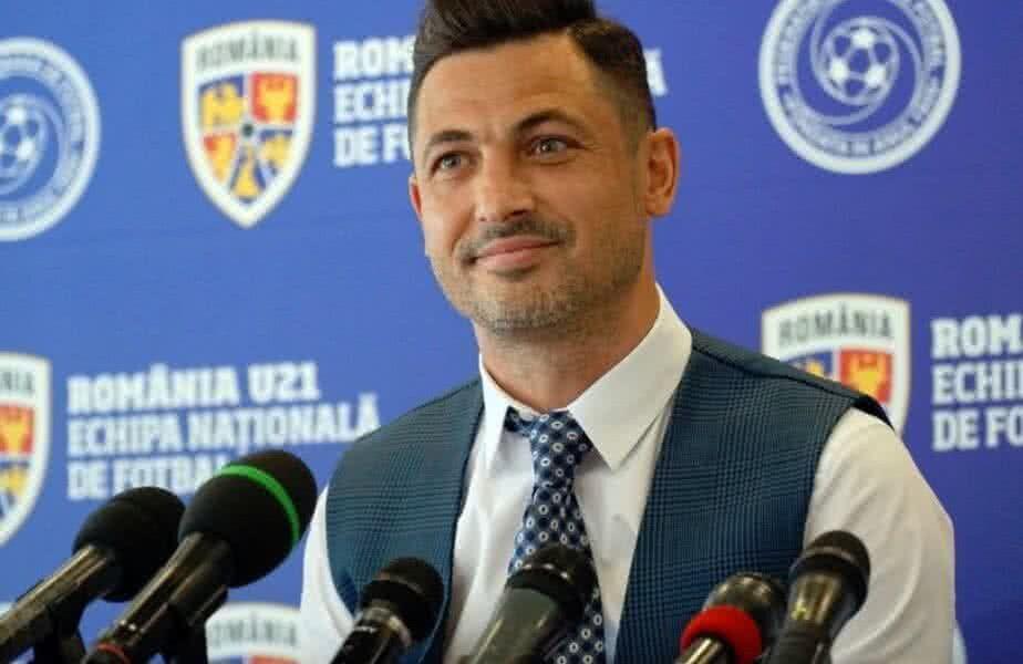 Mirel Rădoi (39 de ani), selecționerul naționalei, a declarat că, în viitor, postul lui ar trebui preluat de Adrian Mutu (41 de ani), în prezent selecționerul României U21.