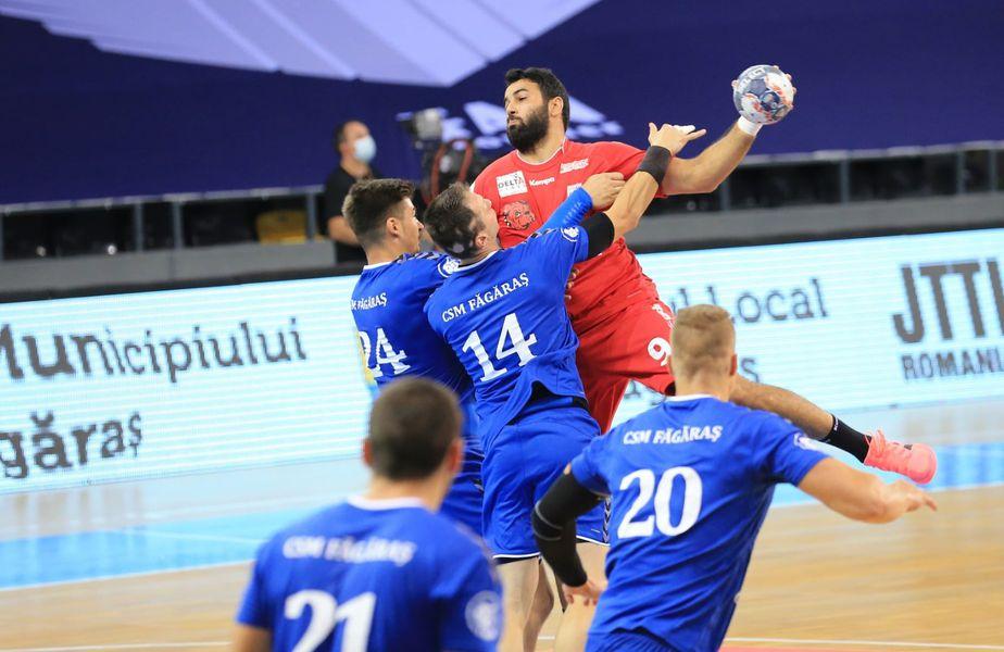 Bannour în meciul cu CSM Făgăraș din prima zi, la Sf. Gheorghe FOTO Dinamo