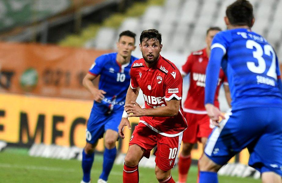 Borja Valle la primul meci pentru Dinamo