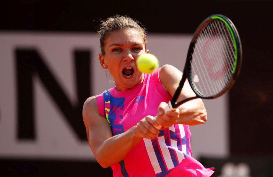 Simona Halep (28 de ani, 2 WTA) a învins-o în turul doi de la WTA Roma pe Jasmine Paolini (24 de ani, 99 WTA), scor 6-3, 6-4. Sportiva noastră a trecut și prin momente dificile în confruntarea cu italianca