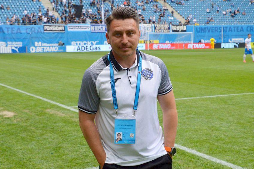 Ilie Poenaru semnează cu Gaz Metan Mediaș / foto: GSP