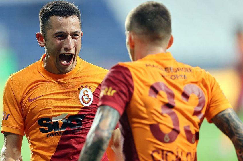 Olimpiu Moruțan și Alexandru Cicâldău // foto: Facebook @ Galatasaray