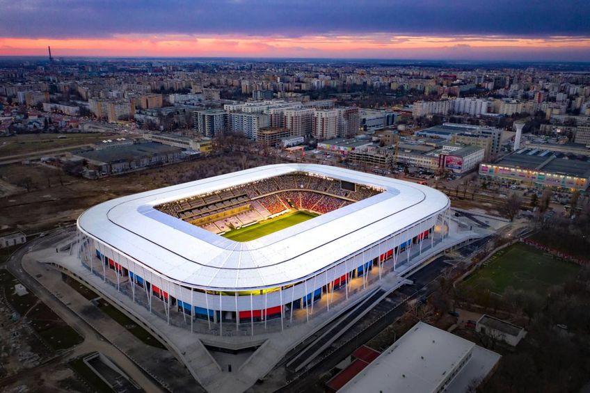 Noul stadion din Ghencea va fi inaugurat vinerea viitoare și pentru rugby, cu meciul dintre CSA Steaua și Universitatea Cluj