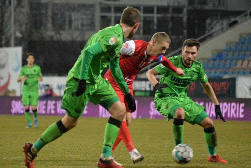 Andrei Patache, 33 de ani, fundașul lui FC Botoșani, nu concepe să piardă cu Dinamo (duminică, ora 19:00).