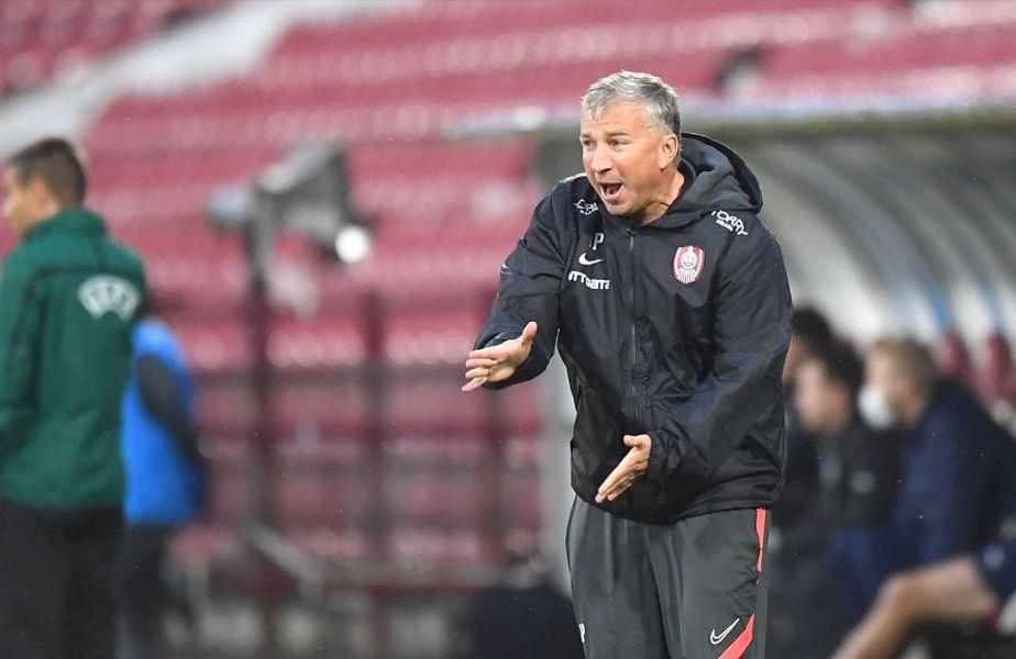 Dan Petrescu (52 de ani), antrenorul campioanei CFR Cluj, exclude varianta de a-i urma lui Mirel Rădoi (39 de ani) pe banca naționalei României.