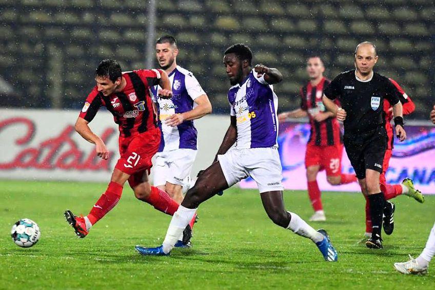 FC Argeș - Astra 1-0. Sursă foto: Facebook Astra Giurgiu