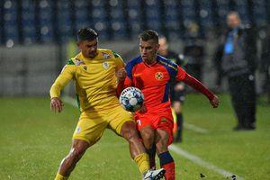 FCSB, în încurcătură? Ce a putut fi observat pe tricourile roș-albaștrilor la meciul cu Mioveni