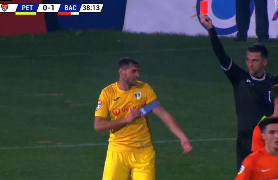 Momentul eliminării lui Andrei Răuță // foto: captură @ Telekom Sport