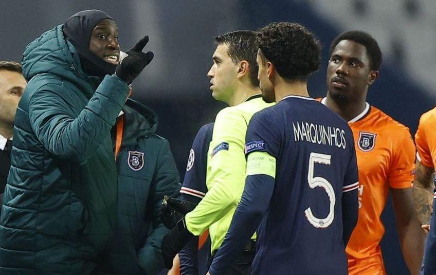 Demba Ba (35 de ani), atacantul lui Bașakșehir, a dezvăluit că Thomas Tuchel (47), antrenorul lui PSG, a dat vina pe formația din Turcia pentru incidentul petrecut în Liga Campionilor în urmă cu două săptămâni.