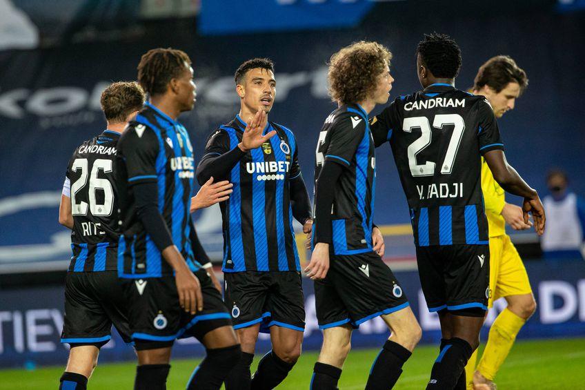 Jucătorii lui FC Bruges FOTO Imago