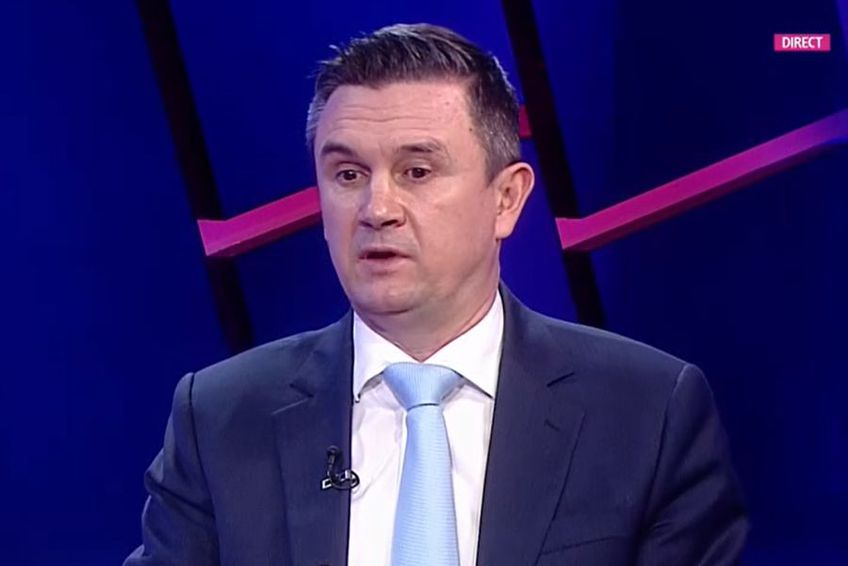 Cristi Balaj, 49 de ani, președintele ANAD (Agenția Națională Anti-Doping), a vorbit pe seama controversei iscate în urmă cu o săptămână @Captură TV Digi Sport 1